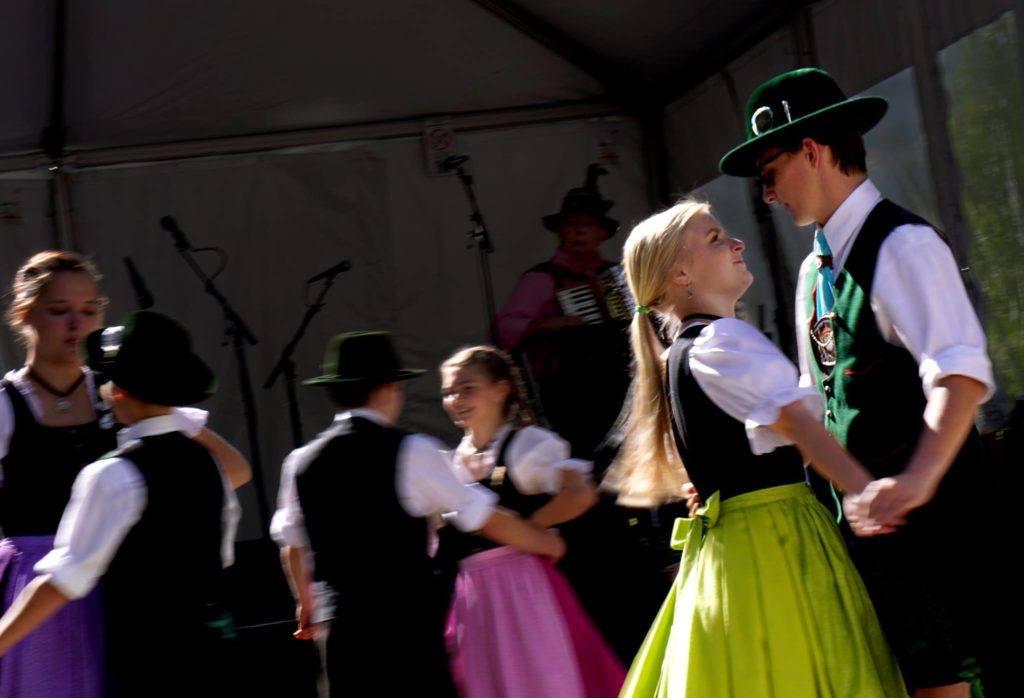 Romance at the Oktoberfest in Breckenridge