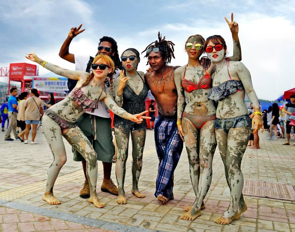 fun at the Boryeong Mud Festival
