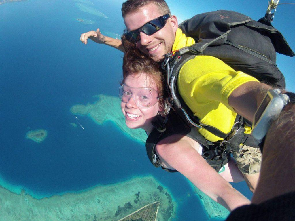 best places to skydive in fiji
