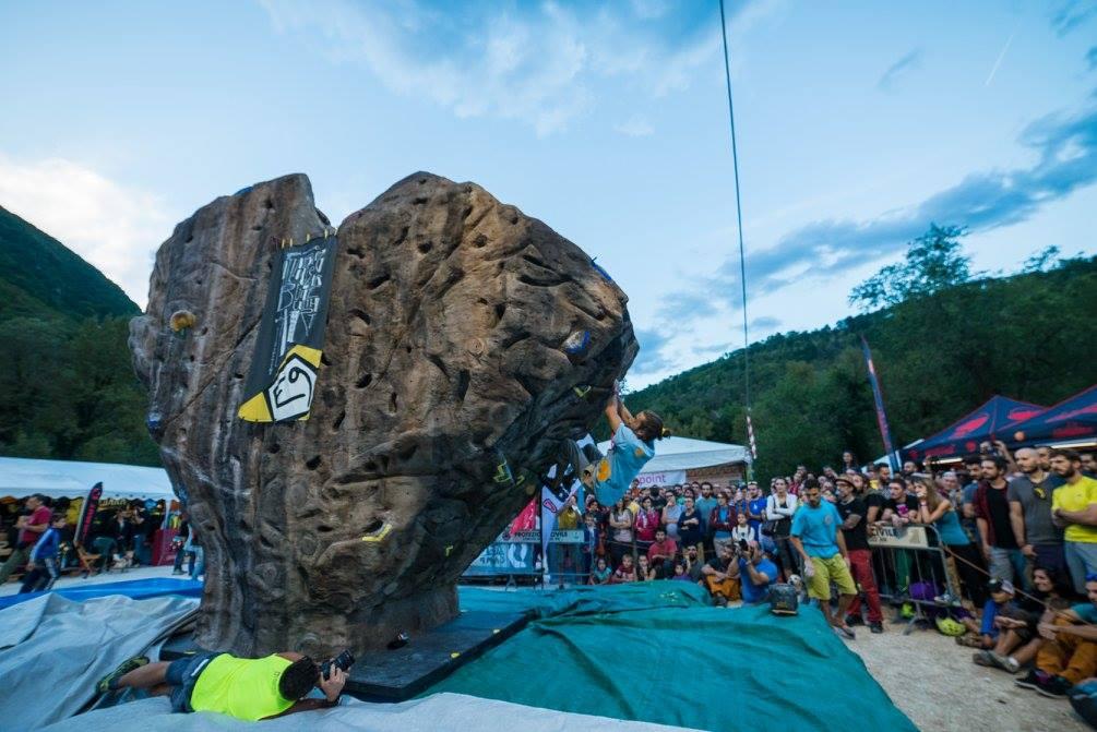 Climbing in Italy at Frasassi Climbing Festival