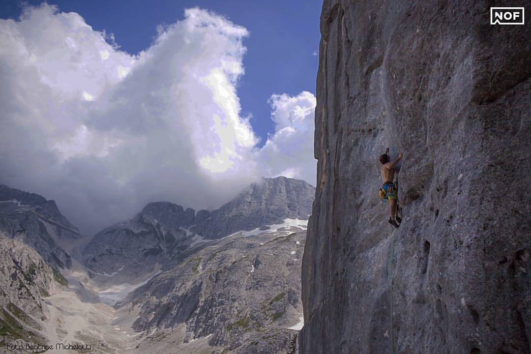 Climbing in Italy at Neven Outdoor Festival