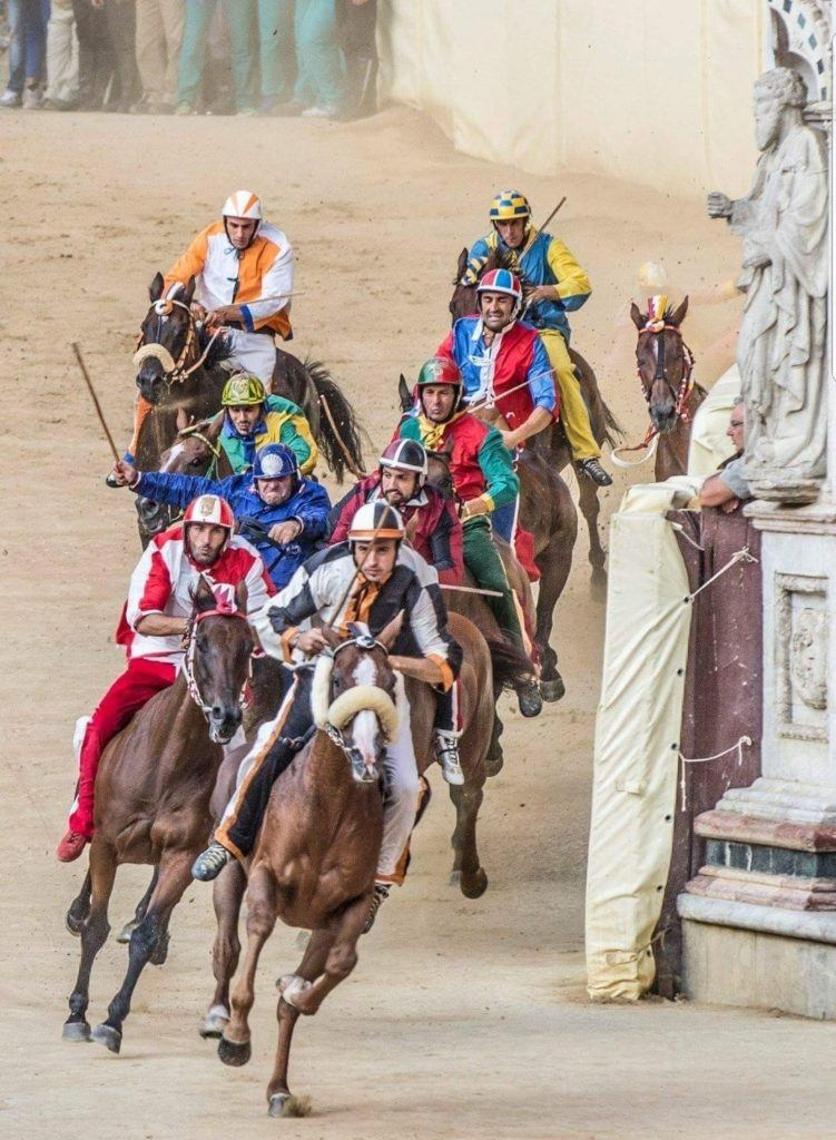 Il Palio is Italy's Adrenaline-Pumping Horse Race And Festival