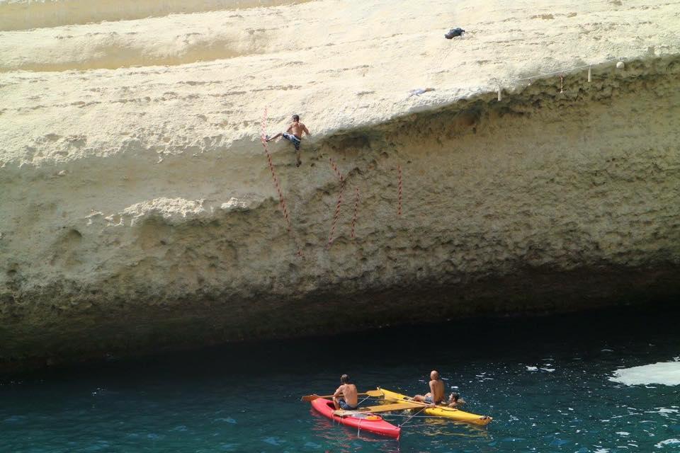 Climbing in Italy at Zestos Psico Bloc
