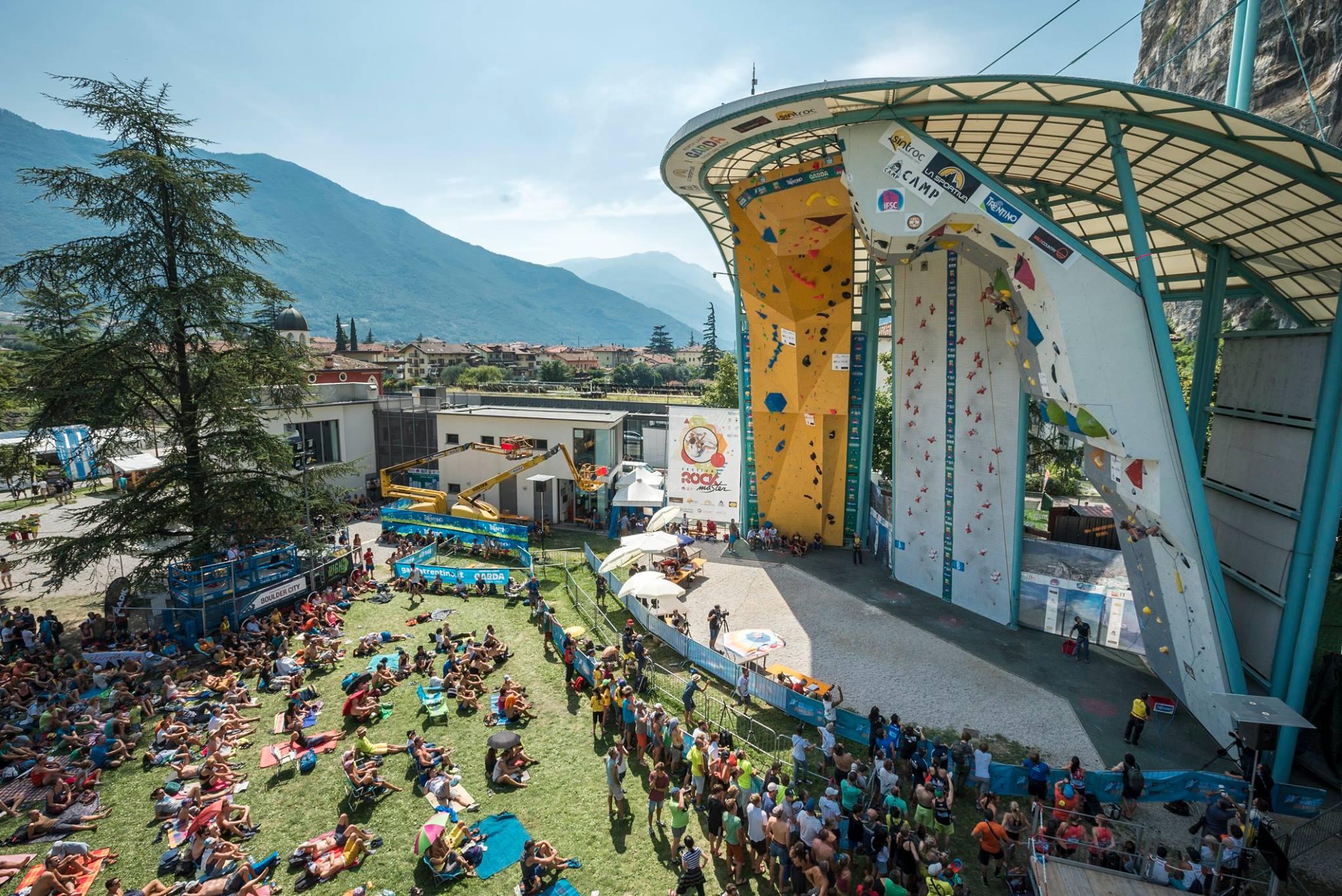 Climbing in Italy at Rock Master Climbing Festival