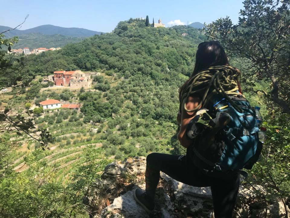 Climbing in Italy at Hotspot 1.0 Montecucco