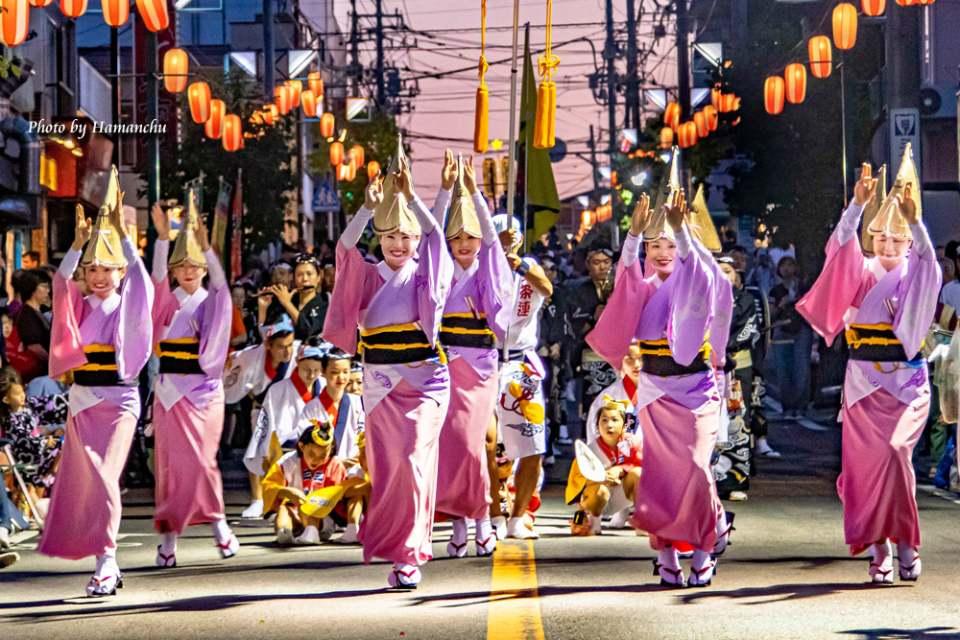 Awa Odori parade