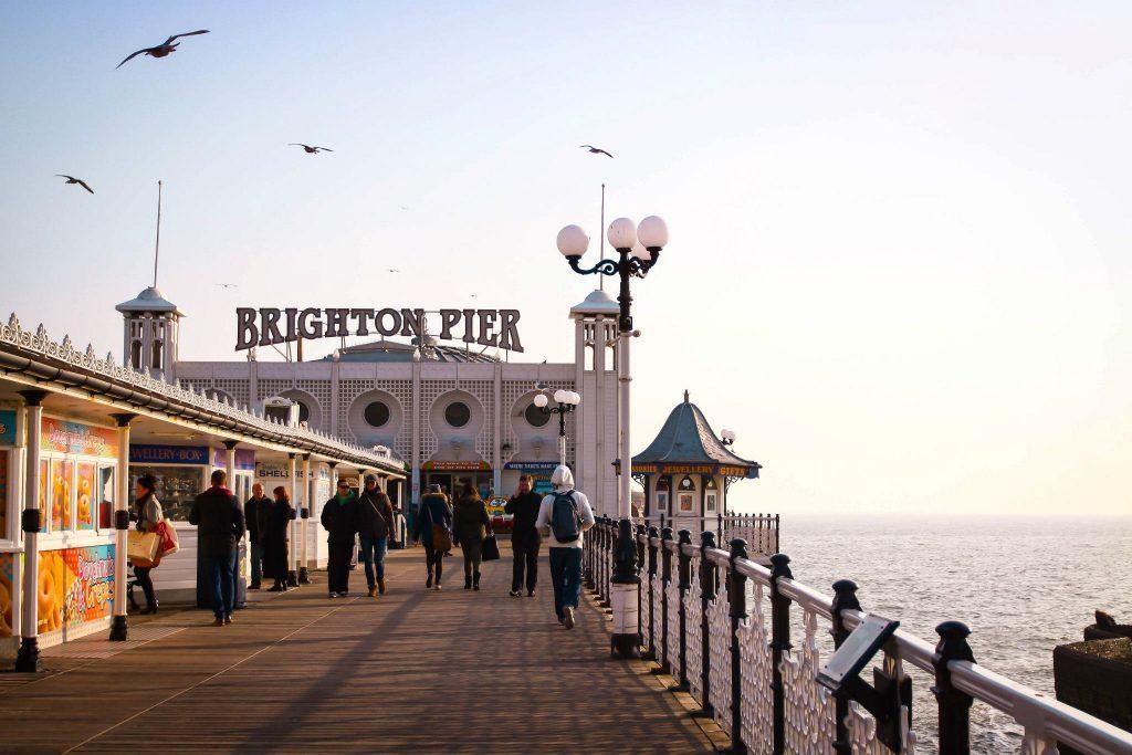 Beautiful views in Brighton