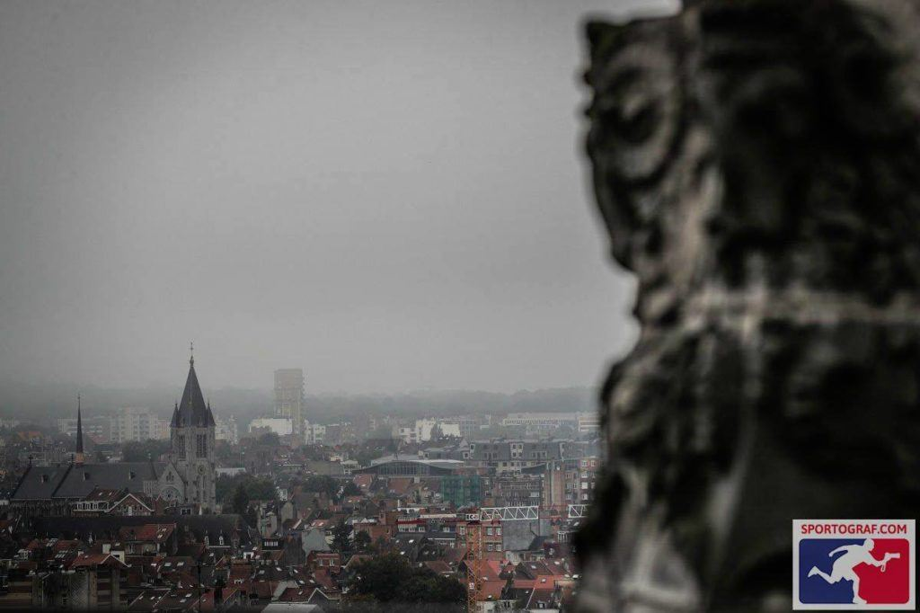 Mystic city of Brussels