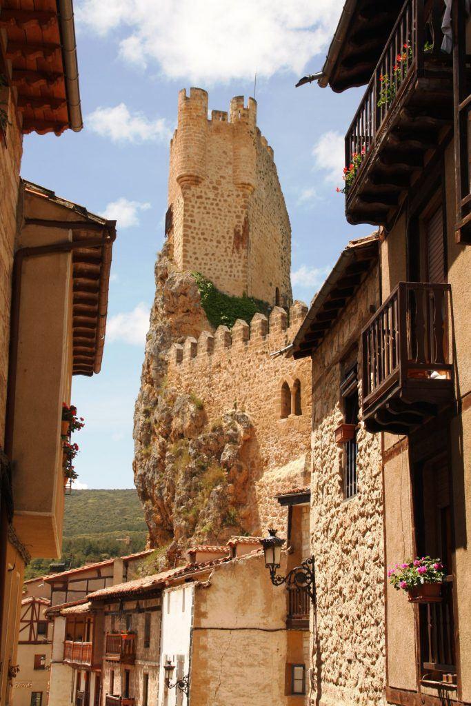 The beautiful village of Burgos in Spain