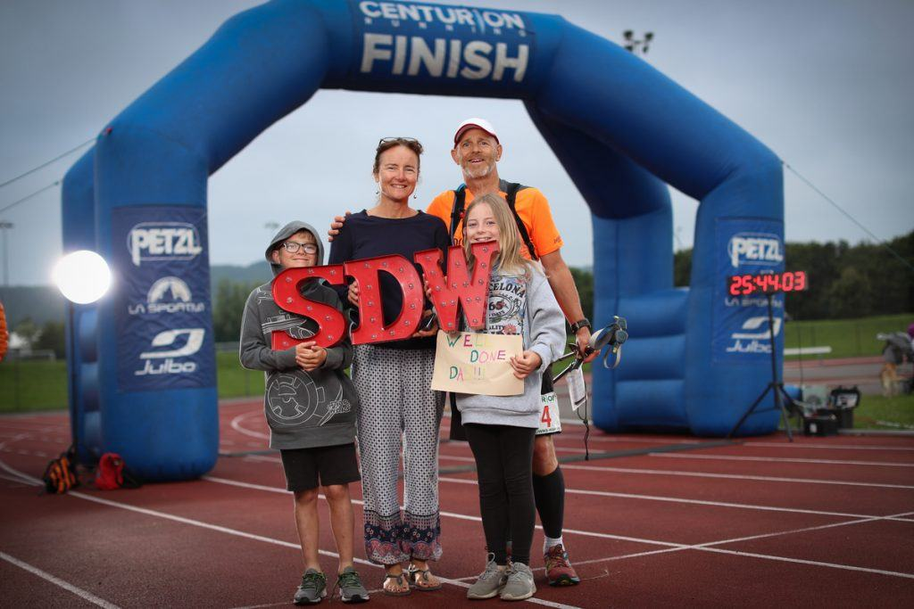 south downs way 100 finish line