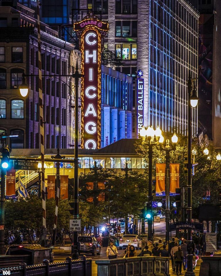 Chicago city streets