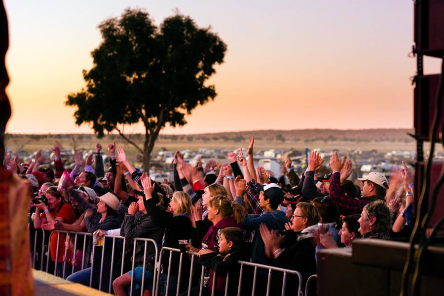 Big Red Bash 2020 in the Simpson Desert