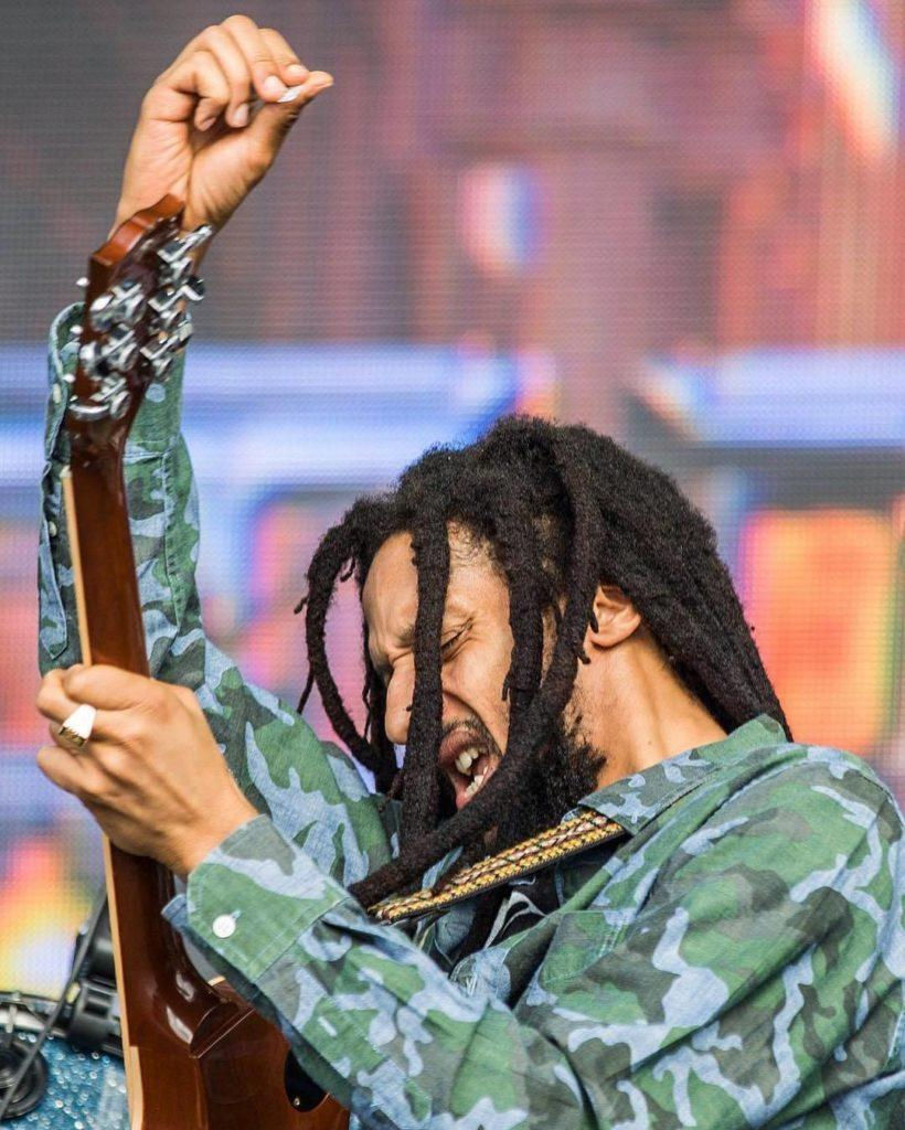 Julian Marley at Riot Fest in Chicago