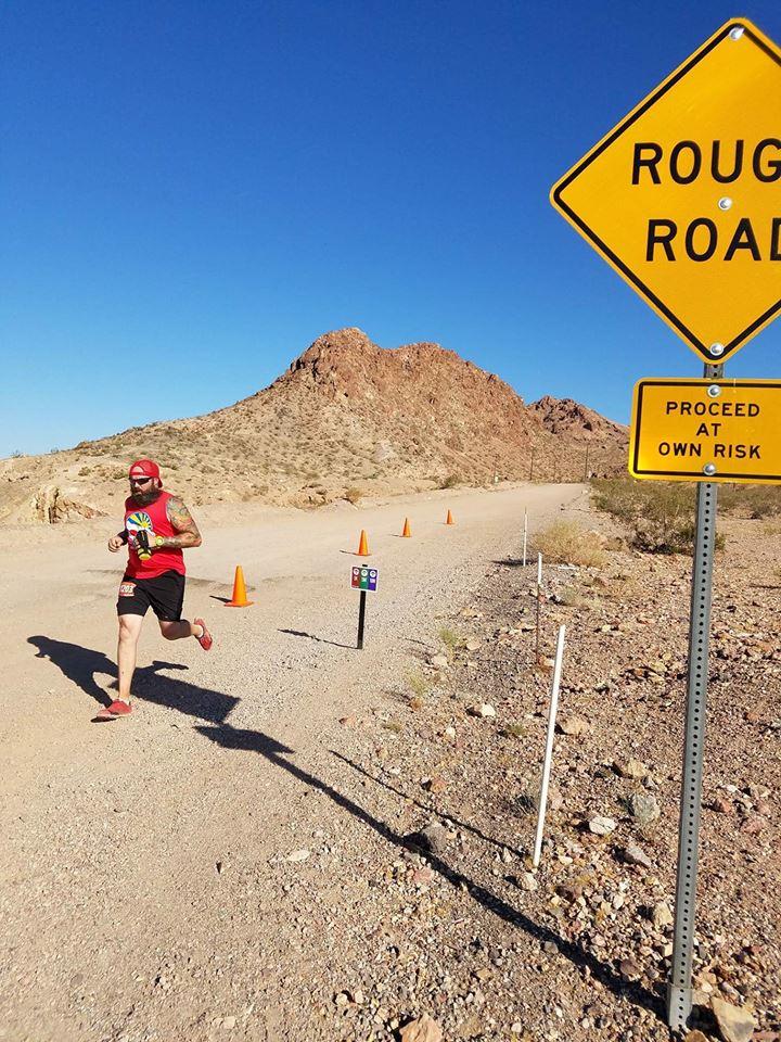 Trail running in Las Vegas