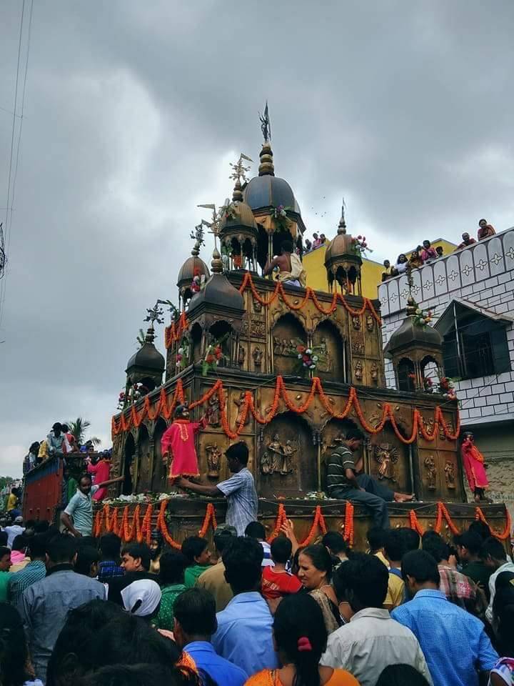 Rath Ysatra parade in Puri India
