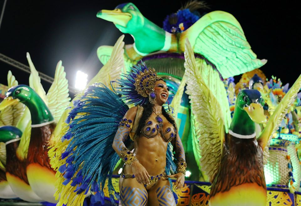 Rio Carnival in the Sambadrome