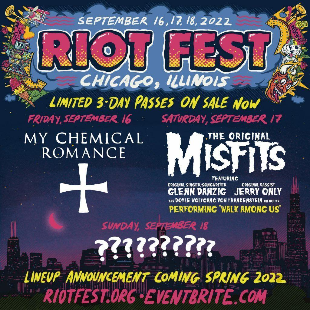 Riot Fest 2022 Lineup