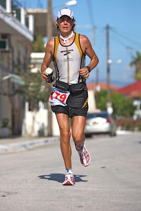 Scott Jurek is one of the fastest Spartathletes with 3 times finish in Spartathlon