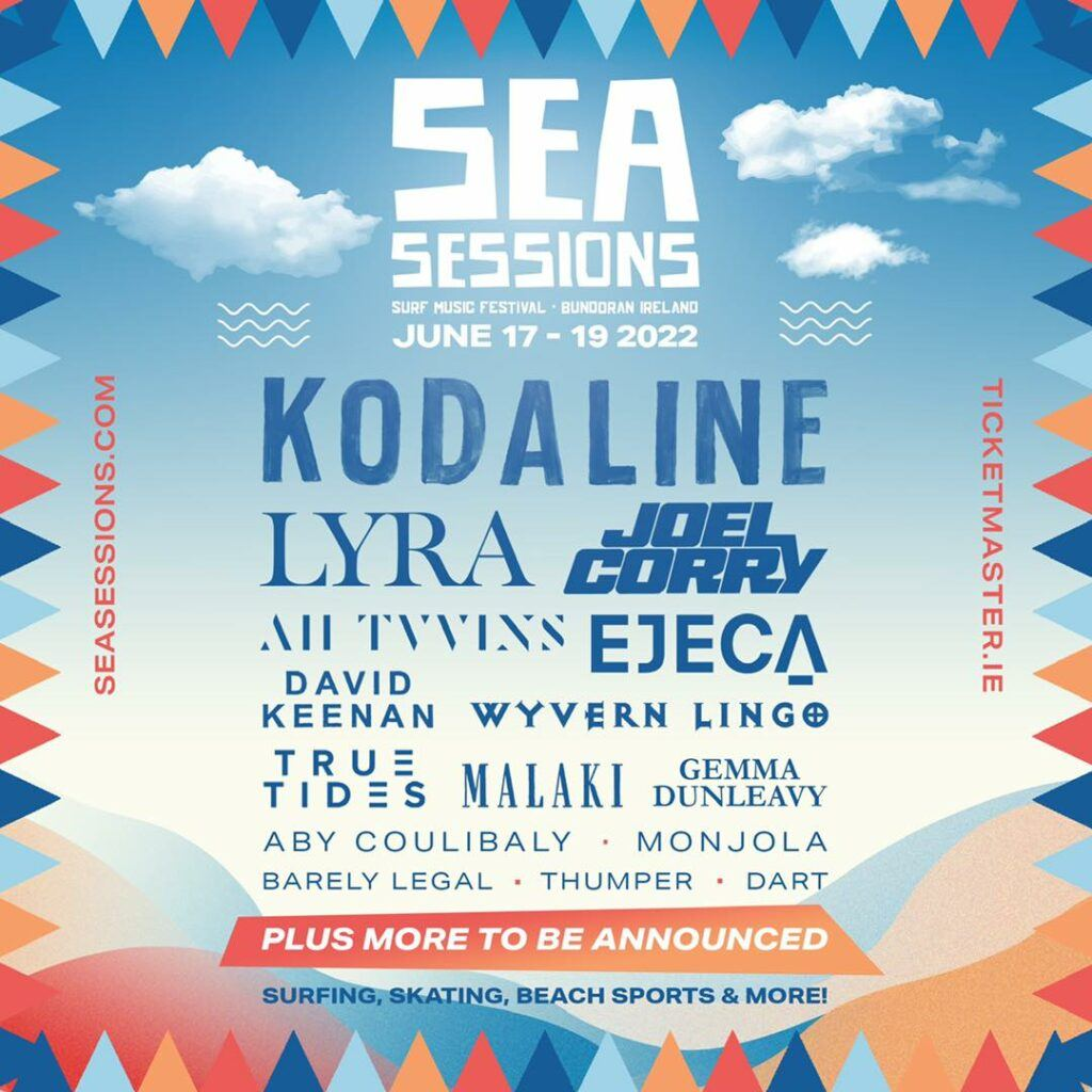Sea Sessions music lineup