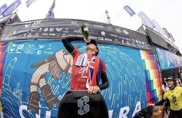 Tanner McDaniel wins Arica Bodyboard Culture