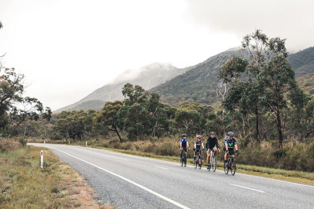 Riding the Great Vic Bike Ride