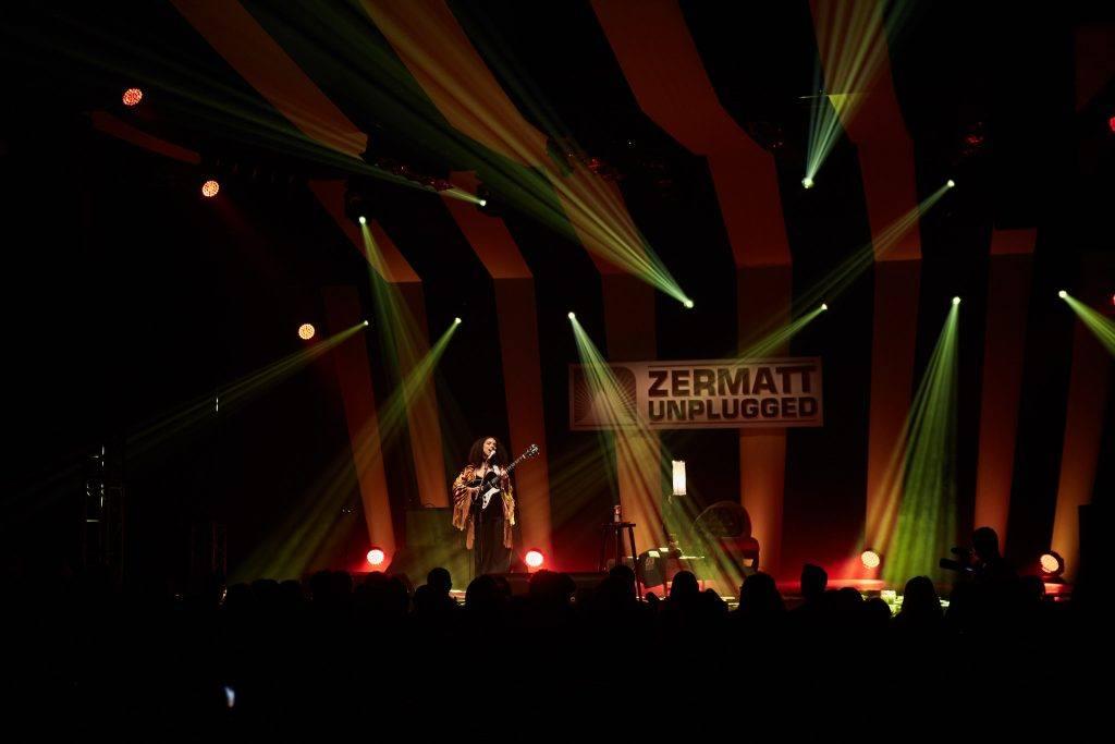 Indoor stage at Zermatt Unplugged