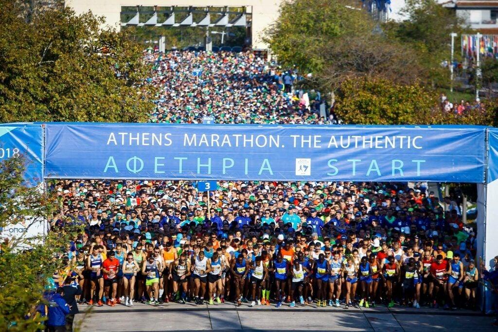 get ready for Athens Marathon