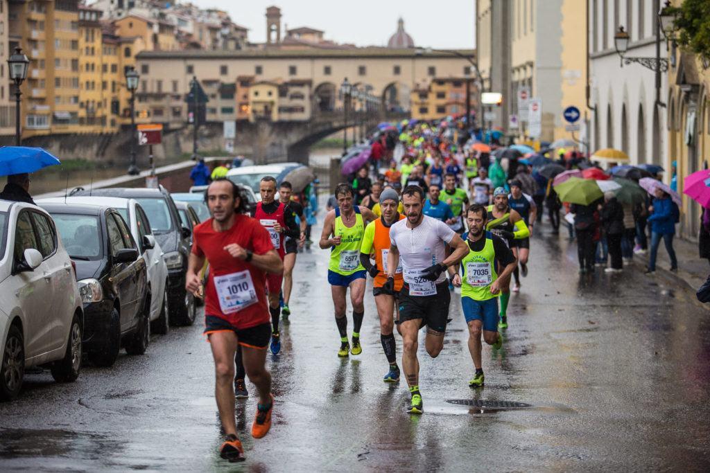 Running through Florence