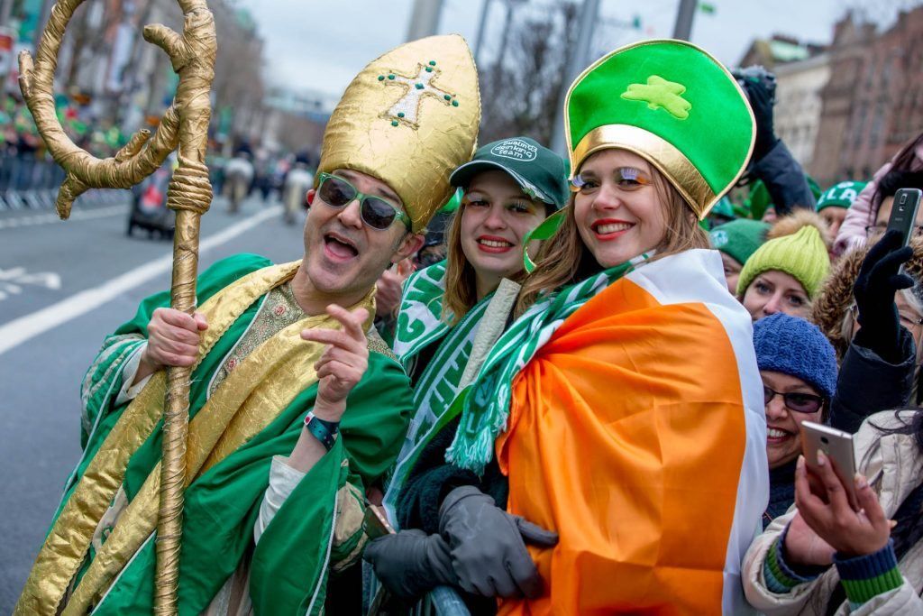 St Patrick's Day in Dublin, Ireland