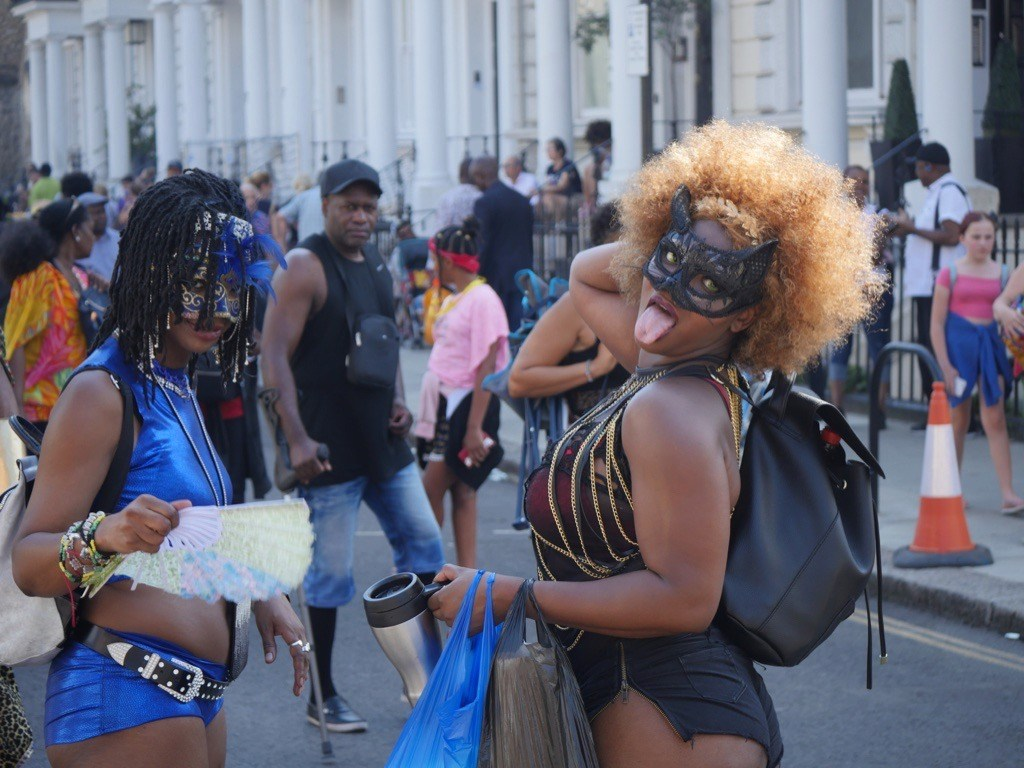 Costumes at Notting Hill Carnival