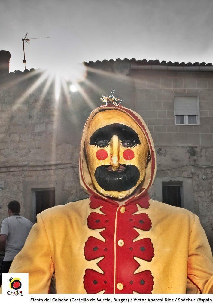 The devil at Castrillo de Murcia (Burgos)