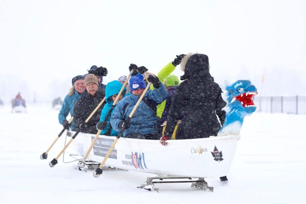 dragon boat racing in Ottawa