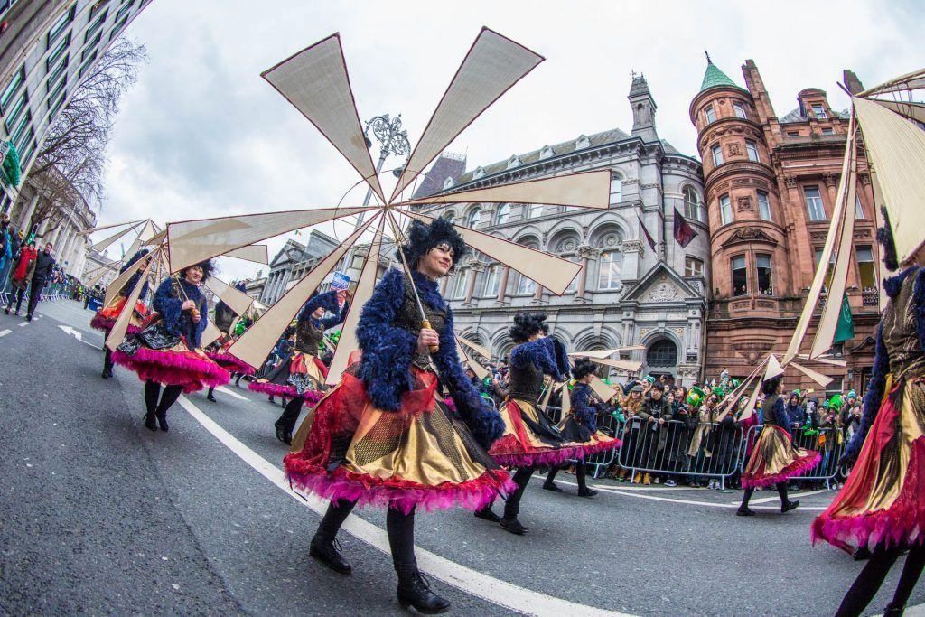 St Patrick's Day celebration in Dublin