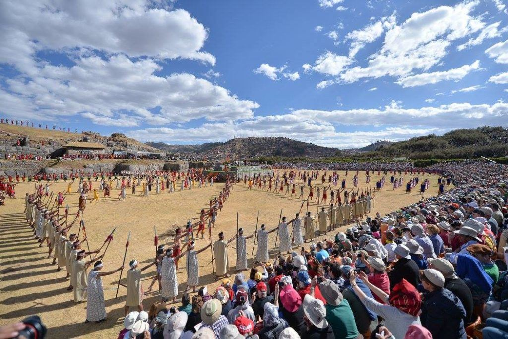 Witness the Inca tradition unfold