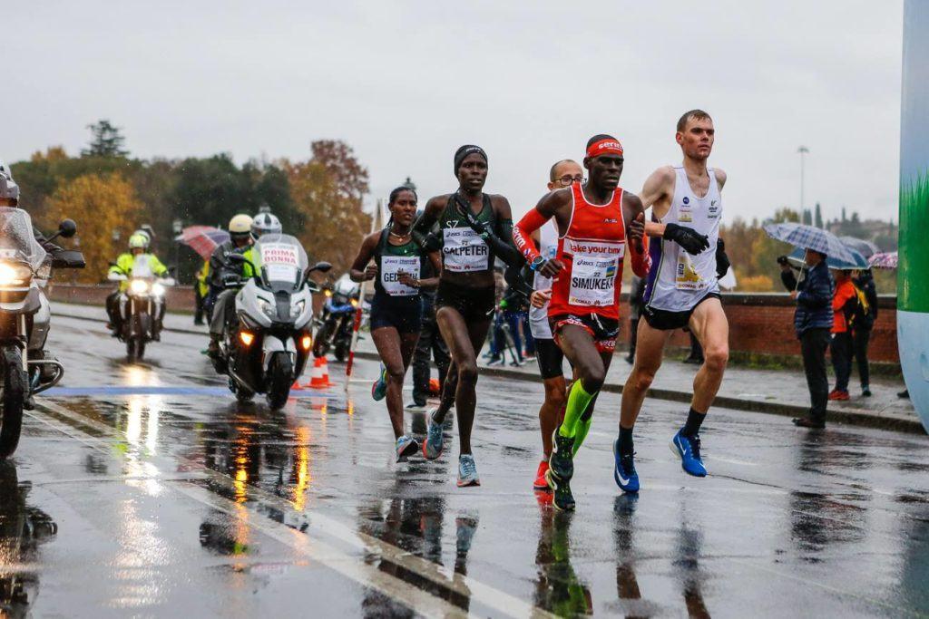 Running Florence Marathon