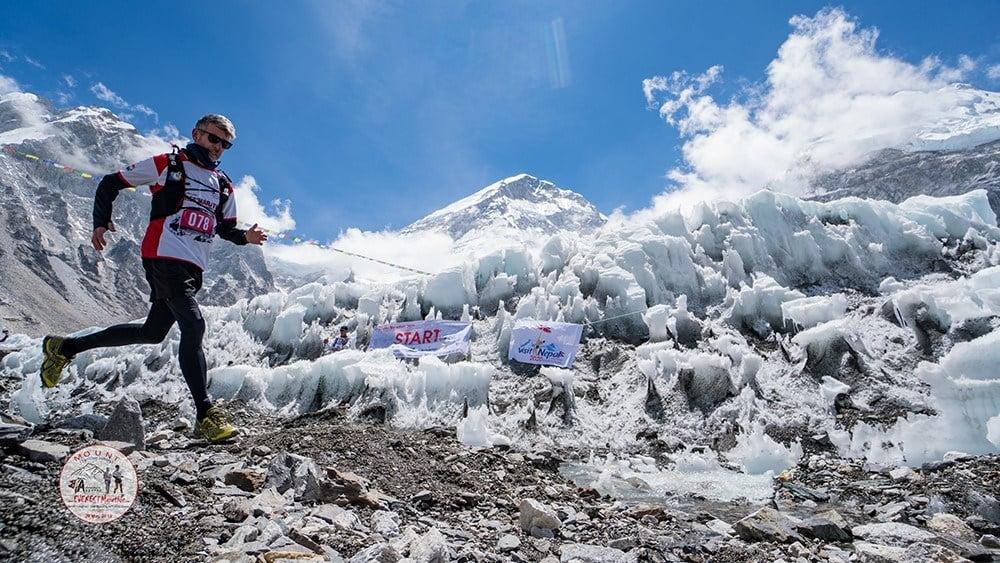 run a marathon in Nepal