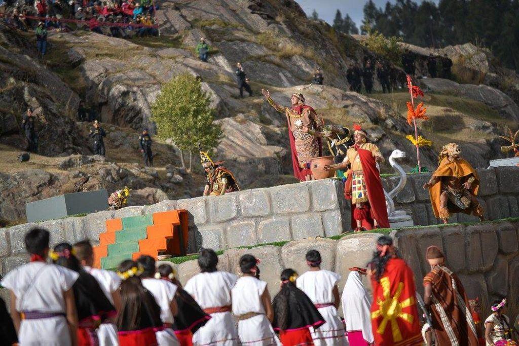 Inti Raymi in Cusco, Peru