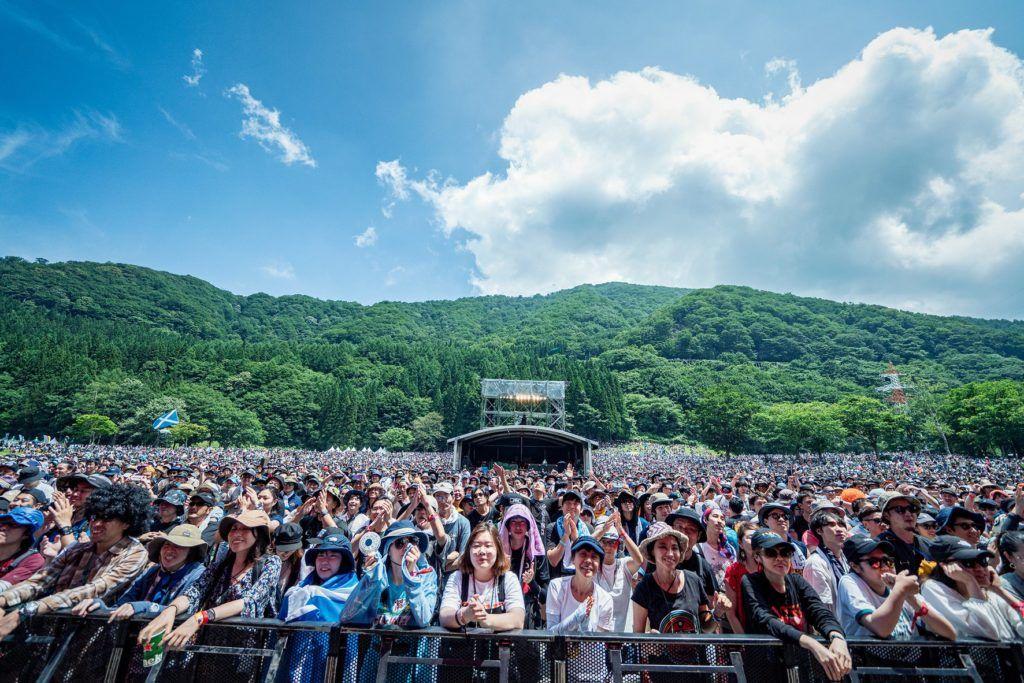 Fuji Rock Festival in Japan