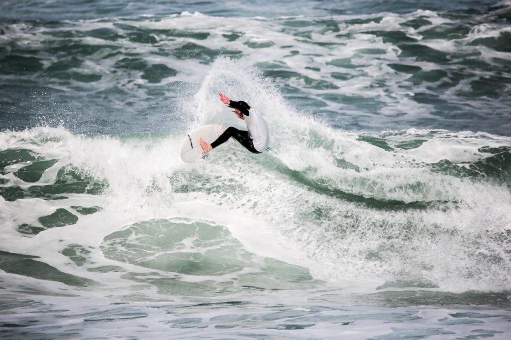 surfing in Bundoran Ireland