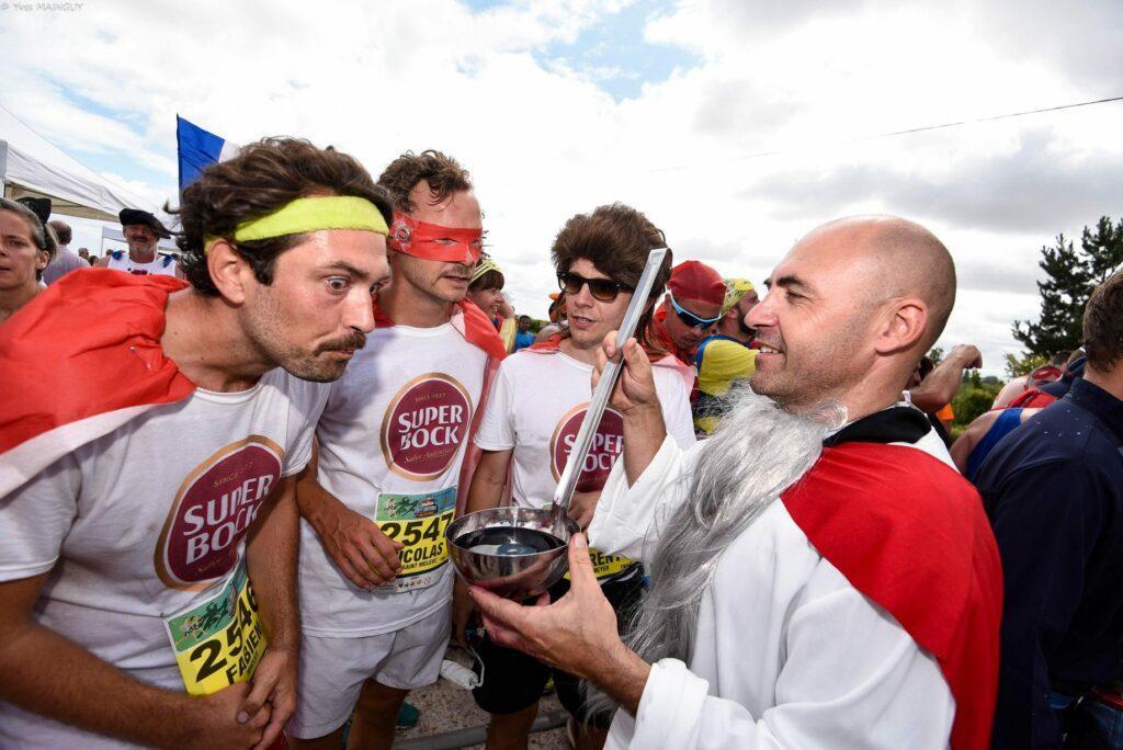 Marathon du Médoc in France