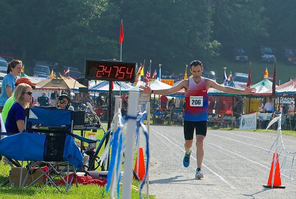 mountain running race Grandfather Mountain Marathon