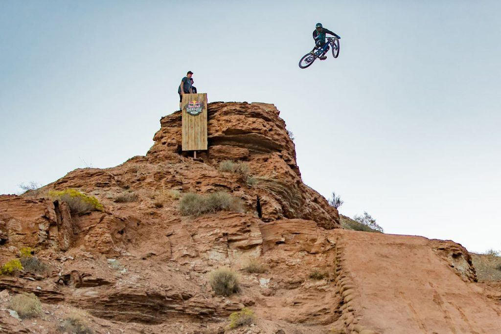Red Bull Rampage freeride mountain biking in Utah