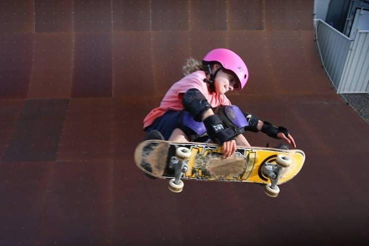 Sabre Norris X Games skateboarder