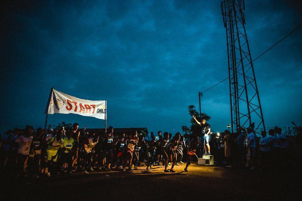 Sierra Leone Marathon starts in the dark