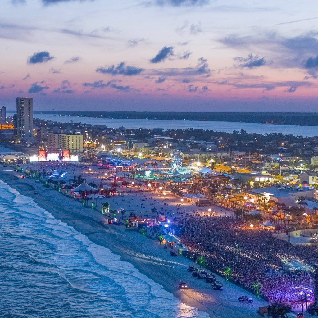 Beautiful set up at the Gulf Shores