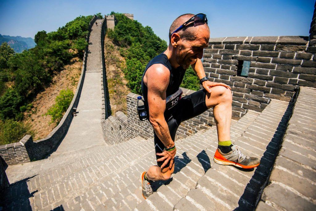 Many stairs to climb in China