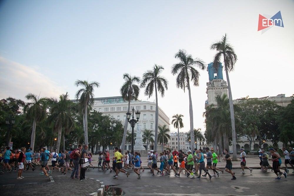 Havana Marathon in Cuba
