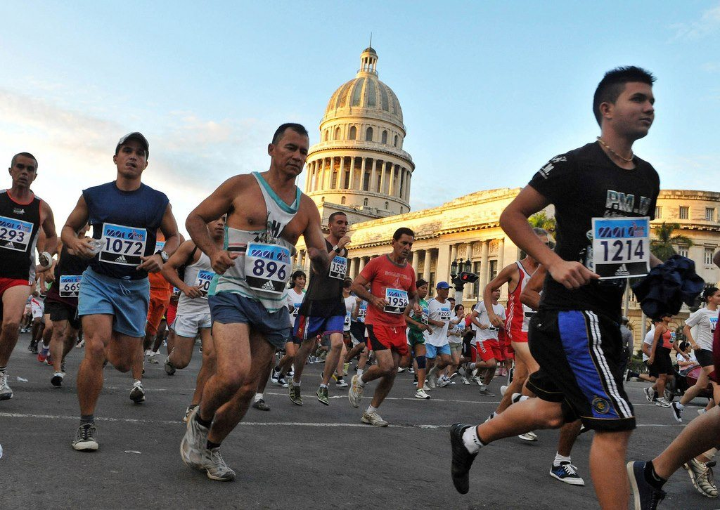 Running past most of the sights in Havana