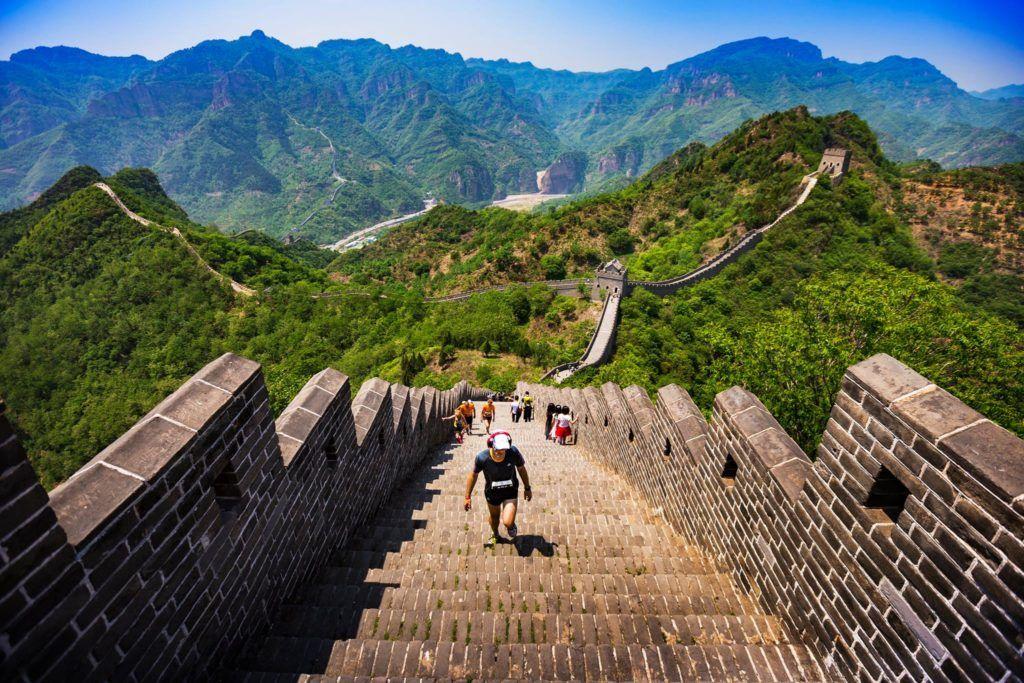 Great Wall Marathon in China