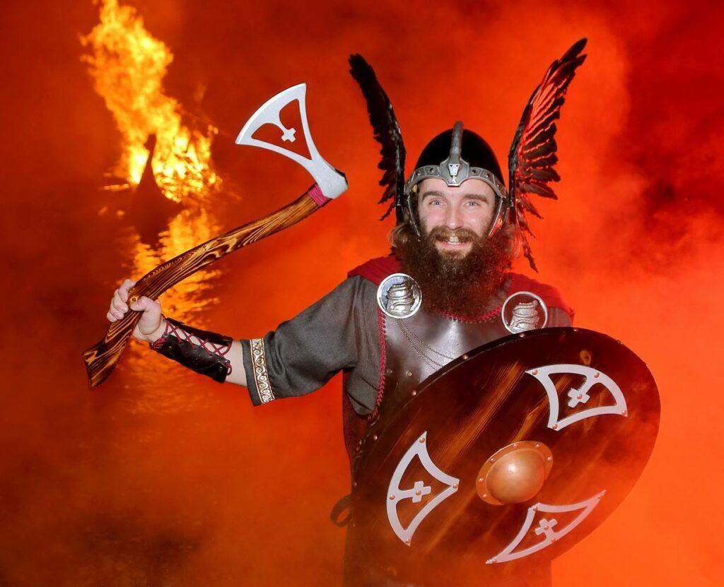 Vikings at Up Helly Aa